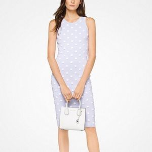 Michael Kors floral stretch dress